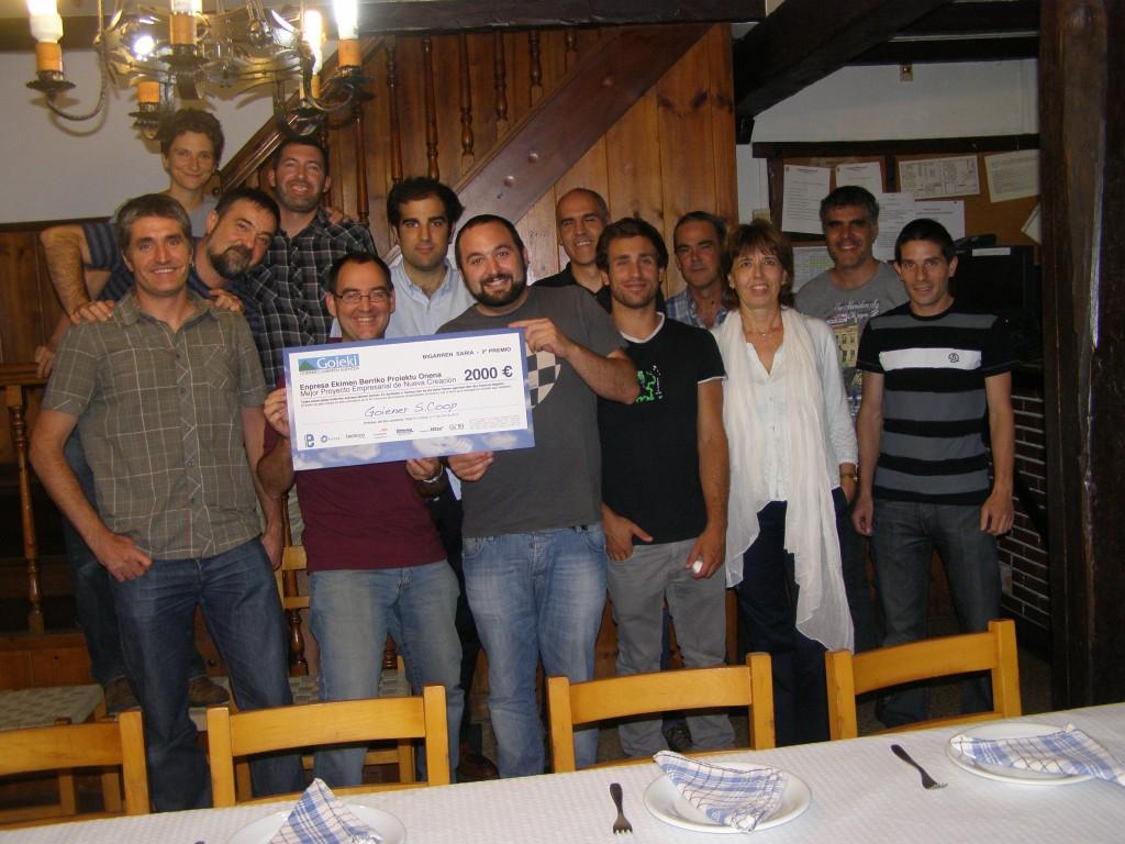 GoiEner premio goieki mejor proyecto empresarial de nueva creación