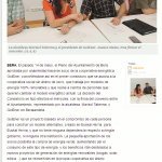 Bera es el primer consistorio socio de la cooperativa energetica GoiEner. Diario de Noticias de Navarra_indexed