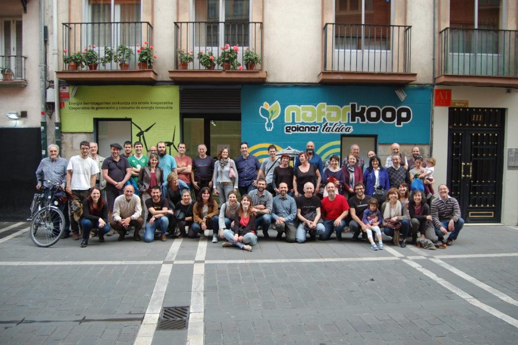 Foto de grupo. Nafarkoop. Pamplona
