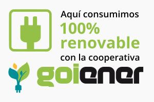 Goiener Cooperativa de Energías 100% Renovables