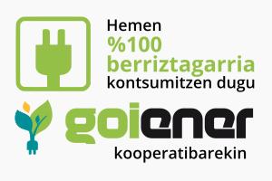 Goiener Energia % 100 berriztagarrien kooperatiba