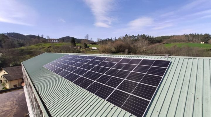 Munitibarreko fotovoltaikoa